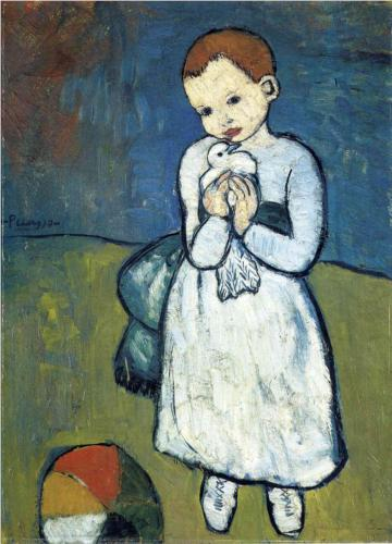 Child With a Dove Picasso