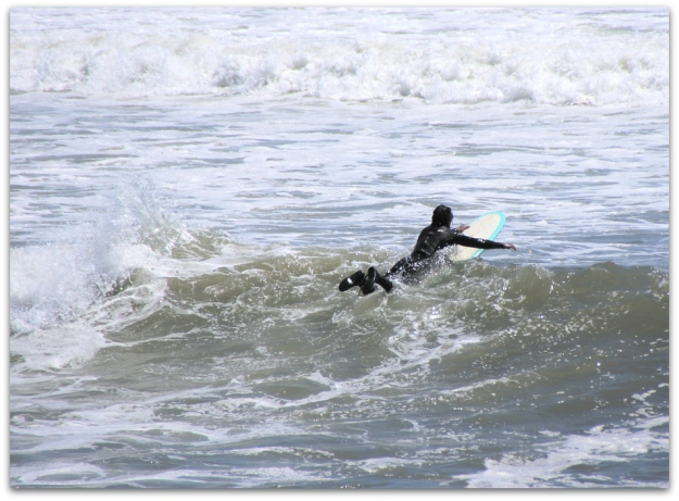 surfer Bass Beach