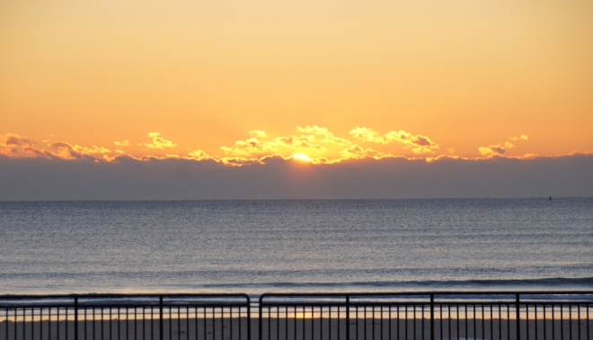 sunrise hampton beach