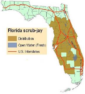 floridascrub-jay-map